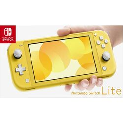Nintendo Switch Lite, žltá