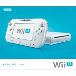Nintendo Wii U Basic Set 8GB, white