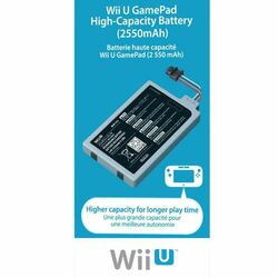 Nintendo Wii U Game Pad High Capacity Battery