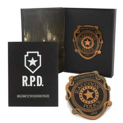 Odznak Resident Evil 2 R.P.D. Collector's Pin