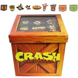 Odznaky Crash Bandicoot Premium Pin Set