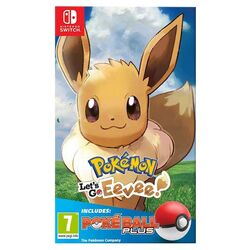 Pokémon: Let's Go, Eevee! + Nintendo Switch Pokéball Plus