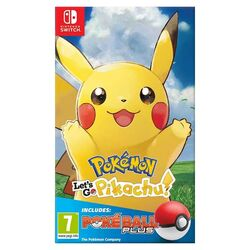 Pokémon: Let's Go, Pikachu! + Nintendo Switch Pokéball Plus