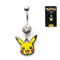 Pokémon Pikachu Head Navel Ring