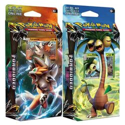 Pokémon TCG: Sun & Moon Forbidden Light Theme Decks