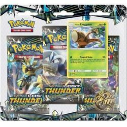 Pokémon TCG: Sun & Moon  Lost Thunder 3 Blister Booster