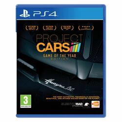 Project CARS (Game of the Year Edition) [PS4] - BAZÁR (použitý tovar) na progamingshop.sk