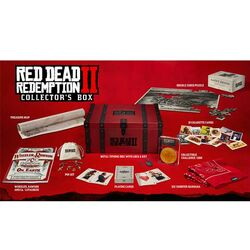 Red Dead Redemption 2 (Collector's Edition) + PS4 hra Red Dead Redemption 2