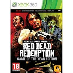 Red Dead Redemption (Game of the Year Edition) [XBOX 360] - BAZÁR (použitý tovar)