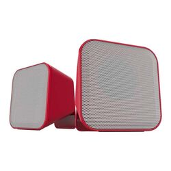 Reproduktory Speedlink Snappy Stereo Speakers, red-white