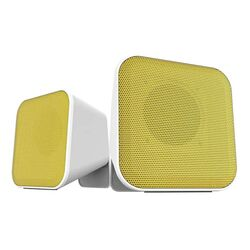 Reproduktory Speedlink Snappy Stereo Speakers, white-yellow