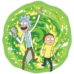 Rick and Morty Mousepad - Portal