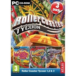 Rollercoaster Tycoon 1,2 & 3 na progamingshop.sk