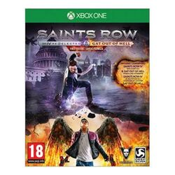 Saints Row 4: Re-Elected + Gat out of Hell (First Edition) [XBOX ONE] - BAZÁR (použitý tovar)