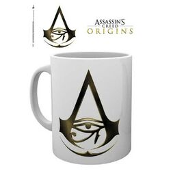 Šálka Assassin's Creed Origins Logo White