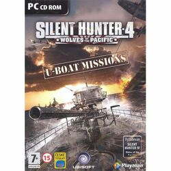 Silent Hunter 4 Wolves of the Pacific: U-boat Missions CZ na progamingshop.sk