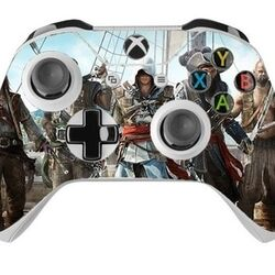 Skin na Xbox One Controller s motívom hry Assassin's Creed 4: Black Flag na progamingshop.sk
