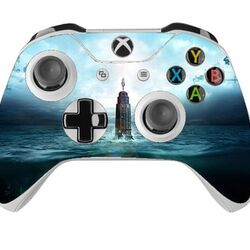 Skin na Xbox One Controller s motívom hry Bioshock: The Collection