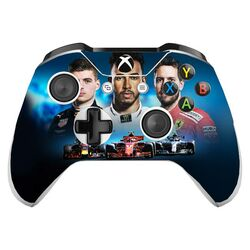 Skin na Xbox One Controller s motívom hry F1 2018: The Official Videogame