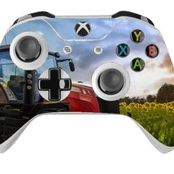 Skin na Xbox One Controller s motívom hry Farming Simulator 2017 na progamingshop.sk