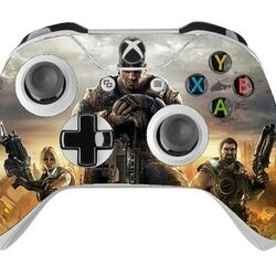 Skin na Xbox One Controller s motívom hry Gears of War 4 na progamingshop.sk