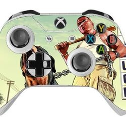 Skin na Xbox One Controller s motívom hry Grand Theft Auto 5