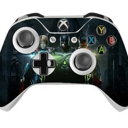 Skin na Xbox One Controller s motívom hry Injustice 2