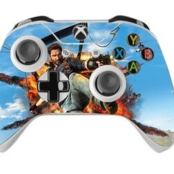 Skin na Xbox One Controller s motívom hry Just Cause 3