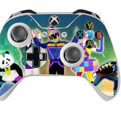 Skin na Xbox One Controller s motívom hry Just Dance 2017