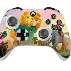 Skin na Xbox One Controller s motívom hry Lego Worlds