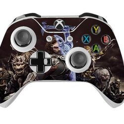 Skin na Xbox One Controller s motívom hry Middle-Earth: Shadow of War