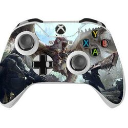 Skin na Xbox One Controller s motívom hry Monster Hunter World  na progamingshop.sk