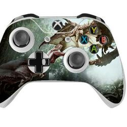 Skin na Xbox One Controller s motívom hry Monster Hunter World v2 na progamingshop.sk