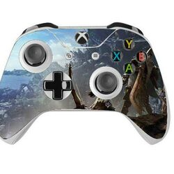 Skin na Xbox One Controller s motívom hry Monster Hunter World v3 na progamingshop.sk