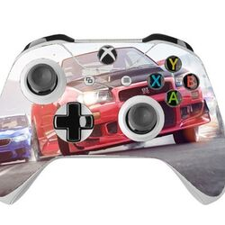 Skin na Xbox One Controller s motívom hry Need For Speed: Payback v2