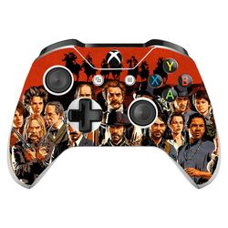 Skin na Xbox One Controller s motívom hry Red Dead Redemption 2 v2