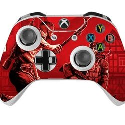 Skin na Xbox One Controller s motívom hry Wolfenstein: The Old Blood