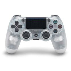 Sony DualShock 4 Wireless Controller v2, crystal