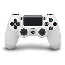 Sony DualShock 4 Wireless Controller V2, glacier white