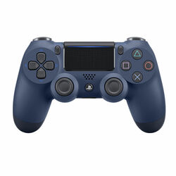 Sony DualShock 4 Wireless Controller v2, midnight blue na progamingshop.sk
