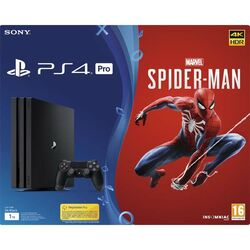 Sony PlayStation 4 Pro 1TB + Marvel's Spider-Man CZ na progamingshop.sk