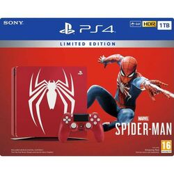 Sony PlayStation 4 Slim 1TB (Amazing Red Limited Edition) + Marvel's Spider-Man CZ na progamingshop.sk