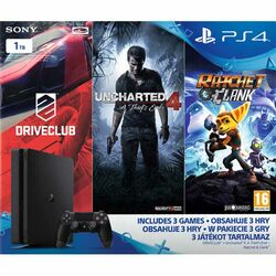 Sony PlayStation 4 Slim 1TB (Family Pack)