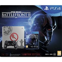 Sony PlayStation 4 Slim 1TB (Limited Edition) + Star Wars: Battlefront 2 (Elite Trooper Deluxe Edition)