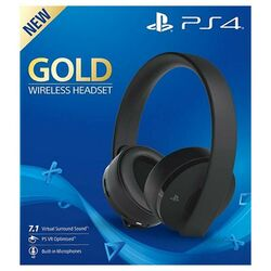 Sony PlayStation Gold Wireless 7.1 Headset, black na progamingshop.sk