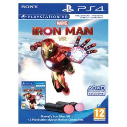 Marvel's Iron Man VR Bundle + 2 PlayStation Move Motion Controllers na progamingshop.sk