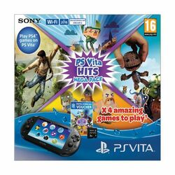 Sony PlayStation Vita Mega Hits Pack + Sony Playstation Vita Memory Card 8GB