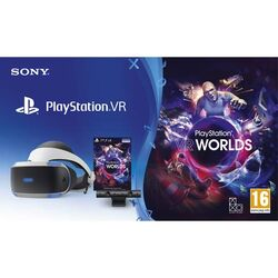 Sony PlayStation VR V2 + Sony PlayStation 4 Camera + VR Worlds na progamingshop.sk