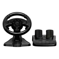 Speed-Link Darkfire Racing Wheel for PC & PS3, black + 7 hier
