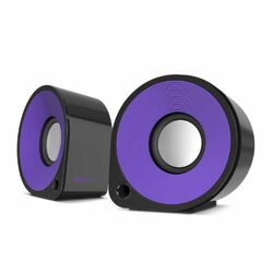 Speed-Link Ellipz Stereo Speakers, black-violet